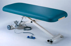 Elora table, Earthlite table, electric therapy tables, salon tables, Earthlite electric tables, salon therapy, electric massage table