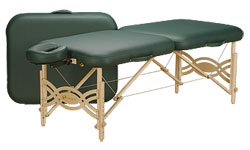 Oakworks, therapy tables, Feldenkrais tables, massage mat, massage table, portable therapy tables