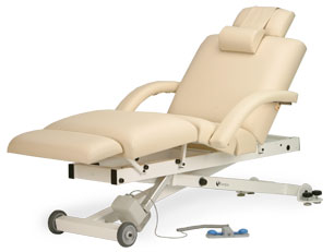 Elora salon table, electric therapy tables, salon tables, Earthlite electric tables, salon therapy, electric massage table